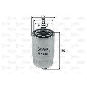 Filtro carburante VALEO 587742 comprare e sostituisci