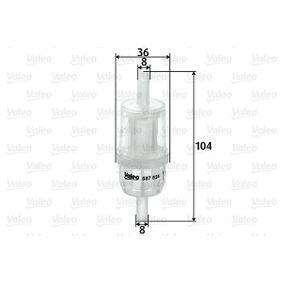 Degvielas filtrs 587524 pirkt - 24/7!