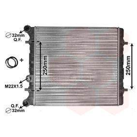 Radiatore, Raffreddamento motore VAN WEZEL 58002152 comprare e sostituisci