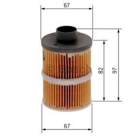 1 457 070 001 filtru combustibil BOSCH - experiență la prețuri reduse