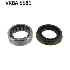Radlagersatz SKF VKBA 6681 Pkw-ersatzteile für Autoreparatur