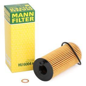 Ölfilter HU 6004 x mit vorteilhaften MANN-FILTER Preis-Leistungs-Verhältnis