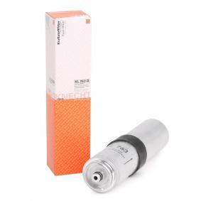 palivovy filtr KL 763D s vynikajícím poměrem mezi cenou a MAHLE ORIGINAL kvalitou