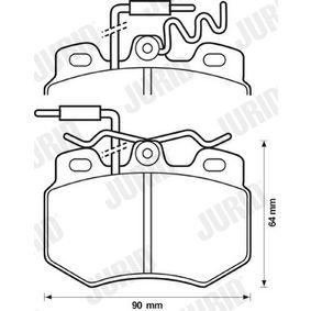 Jeu de plaquettes de frein, frein à disque 571319J pour CITROËN petits prix - Achetez tout de suite!