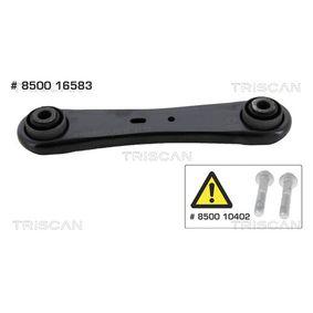 Braccio oscillante, Sospensione ruota TRISCAN 8500 16583 comprare e sostituisci