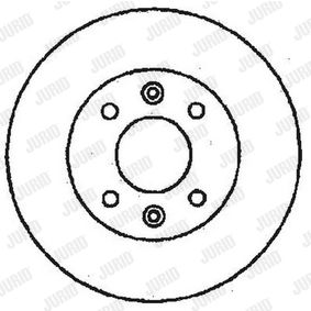 buy and replace Brake Disc JURID 561235JC