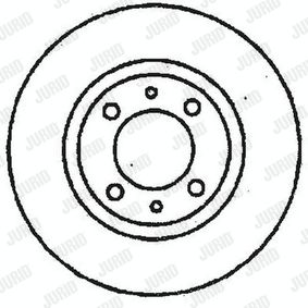 Brake Disc 561326JC JURID Secure payment — only new parts