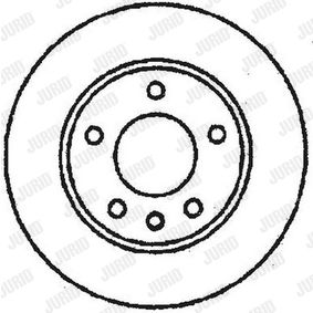 Brake Disc 561652JC JURID Secure payment — only new parts