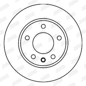 Brake Disc 562053JC JURID Secure payment — only new parts