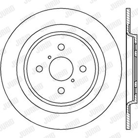 Brake Disc 562422JC JURID Secure payment — only new parts