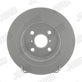 Disque de frein 562422JC JURID Paiement sécurisé — seulement des pièces neuves