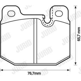 Jeu de plaquettes de frein, frein à disque 571271D pour OPEL petits prix - Achetez tout de suite!