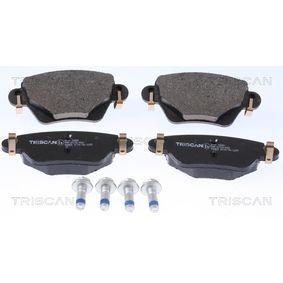 Brake Pad Set, disc brake 8110 16006 for JAGUAR cheap prices - Shop Now!
