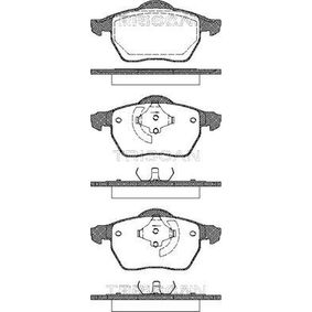 Brake Pad Set, disc brake 8110 27008 for VOLVO C70 at a discount — buy now!