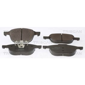 Brake Pad Set, disc brake 8110 50023 for VOLVO C30 at a discount — buy now!