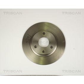 Disque de frein 8120 10116 TRISCAN Paiement sécurisé — seulement des pièces neuves
