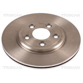 Disque de frein 8120 10121 TRISCAN Paiement sécurisé — seulement des pièces neuves