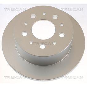 Bromsskiva 8120 10121 TRISCAN Säker betalning — bara nya delar