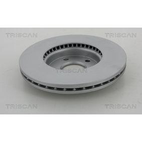 Disque de frein 8120 10122 TRISCAN Paiement sécurisé — seulement des pièces neuves