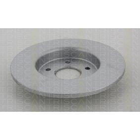 Disque de frein 8120 10137 TRISCAN Paiement sécurisé — seulement des pièces neuves