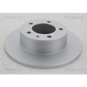 Bromsskiva 8120 10137 TRISCAN Säker betalning — bara nya delar