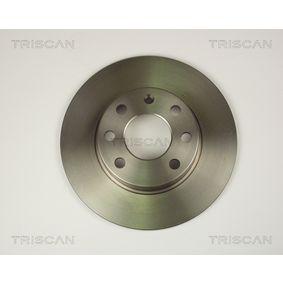 Bromsskiva 8120 24105 TRISCAN Säker betalning — bara nya delar