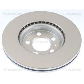 Disque de frein 8120 25103 TRISCAN Paiement sécurisé — seulement des pièces neuves