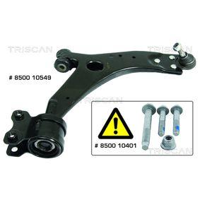 носач, окачване на колелата 8500 10549 с добро TRISCAN съотношение цена-качество