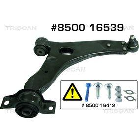 Braço oscilante, suspensão da roda 8500 16539 com uma excecional TRISCAN relação preço-desempenho
