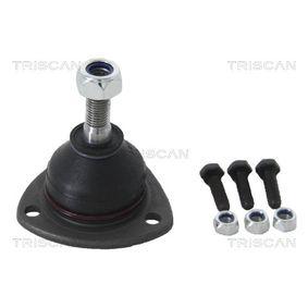 Koop en vervang Fuseekogel TRISCAN 8500 2525
