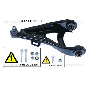 Braccio oscillante, Sospensione ruota 8500 25538 con un ottimo rapporto TRISCAN qualità/prezzo