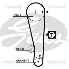 Molla sospensione autotelaio TRISCAN 8750 1461 comprare e sostituisci