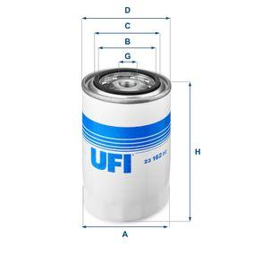 Compre e substitua Filtro de óleo UFI 23.162.02