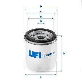 Compre e substitua Filtro de óleo UFI 23.284.00