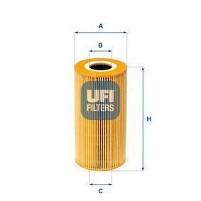 Koop en vervang Oliefilter UFI 25.009.00
