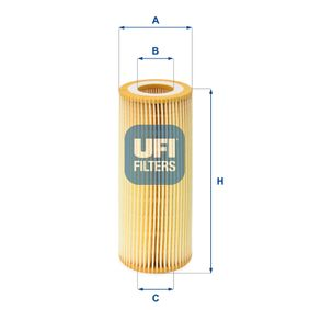 buy and replace Oil Filter UFI 25.021.00