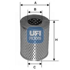 palivovy filtr 26.602.00 UFI Zabezpečená platba – jenom nové autodíly