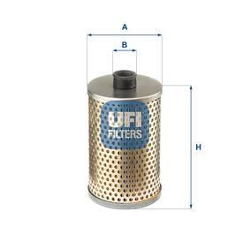 palivovy filtr 26.645.00 UFI Zabezpečená platba – jenom nové autodíly