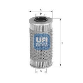 Kupte a vyměňte palivovy filtr UFI 26.689.00