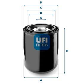 UFI 27.259.00 légszárító patron, sűrített levegő rendszer vásárlás