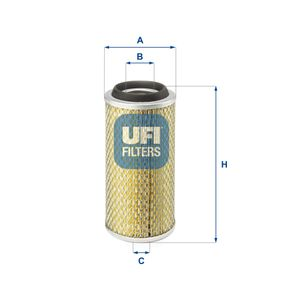 Buy UFI Air Filter 27.801.00