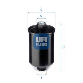 palivovy filtr 31.741.00 UFI Zabezpečená platba – jenom nové autodíly