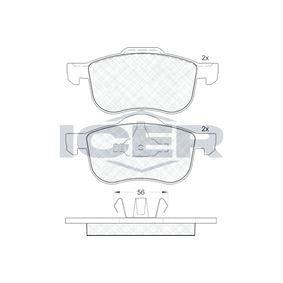 Bromsbeläggssats, skivbroms 181297 V70 II (SW) 2.4 140 HKR originaldelar-Erbjudanden