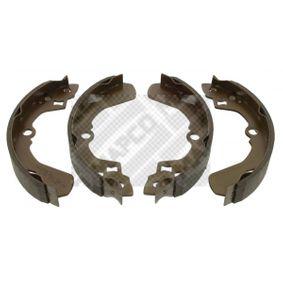 Compre e substitua Jogo de maxilas de travão MAPCO 8516