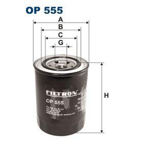 Oljefilter OP555 som är helt FILTRON otroligt kostnadseffektivt