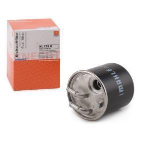 palivovy filtr KL 723D s vynikajícím poměrem mezi cenou a MAHLE ORIGINAL kvalitou