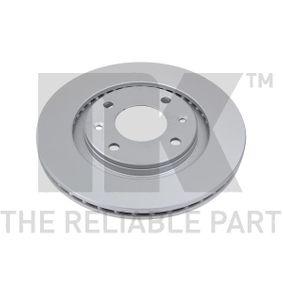 Disco de travão 319915 NK Pagamento seguro — apenas peças novas