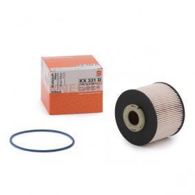 palivovy filtr KX 331D s vynikajícím poměrem mezi cenou a MAHLE ORIGINAL kvalitou