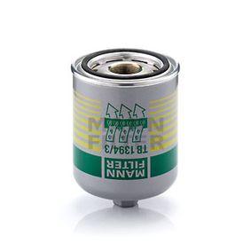 MANN-FILTER TB 1394/3 x légszárító patron, sűrített levegő rendszer vásárlás