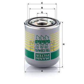 Kup MANN-FILTER Wkład osuszacza powietrza, instalacja pneumatyczna TB 1394/5 x